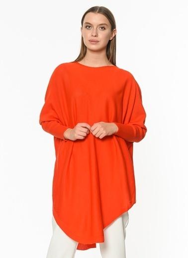 Su Moda Yırtmaçlı Tunik Oranj